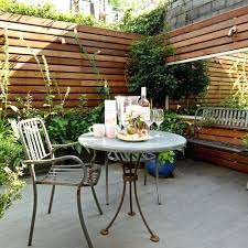 Ideas For A Small Apartment Patio Ideas 11 Patio With Mirror Small Garden Ideas David Still