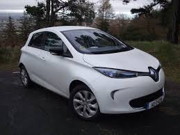 renault zoe boot space family car review renault zoe electric car