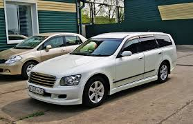 nissan stagea 2005 nissan stagea m35 facelift wagon wallpapers specs and news