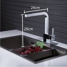 kitchen faucet pull shop new chrome pull out kitchen faucet square brass