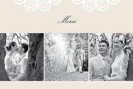 faire part de remerciement mariage faire part remerciement mariage dentelle meilleur de photos