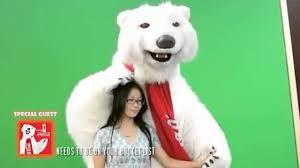 Coke Bear Meme - merry christmas with the funny coca cola bear youtube