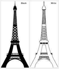 eiffel tower sketch pink dromggi top clipart clipartix