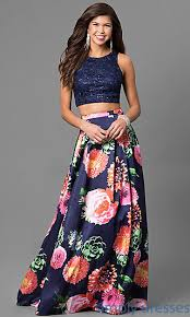 ew117035 crop top styles floral prom dresses and lace crop tops