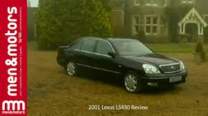 lexus ls430 rim size 2001 lexus ls430 review youtube