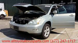 used lexus suv parts lexus rx 330 2004 car for parts youtube