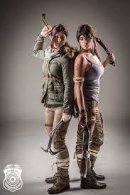 Lara Croft Halloween Costume Amy Nicole Wetsuit Version Lara Croft Cosplay Geek