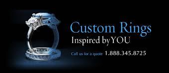 sapphire studios black moissanite white custom moissanite and diamond engagement ring gallery