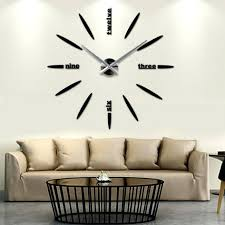 wall ideas large decorative wall clocks for sale large