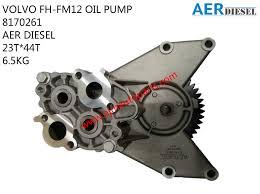 trak volvo volvo fh fm12 oil pump 8170261 ajm auto continental corp sdn bhd