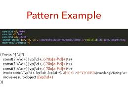 android pattern matching android deobfuscation tools and techniques