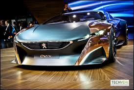 peugeot onyx top speed peugeot onyx based on a carbon fibre