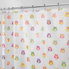 Owl Fabric Shower Curtain 27 Best Bath Images On Pinterest Shower Curtains Bathroom Ideas