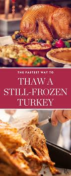 help it s thanksgiving morning and my turkey is still frozen