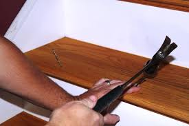 Fix Creaky Hardwood Floors - how to fix squeaky stairs from above pro construction guide