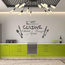 l amour dans la cuisine sticker citation l l amour de la cuisine stickers