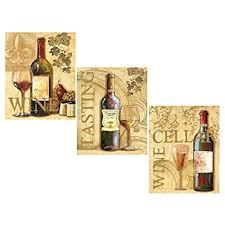 wine kitchen decor amazon com
