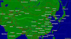 Harbin China Map by Primap National Maps