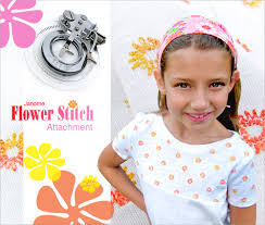 flower accessories machine accessories we janome flower stitch attachment