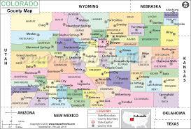 map us states colorado colorado county map colorado counties