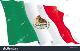 Mexixan Flag Mexican Flag Vector Flag Mexico Isolated Stock Vector 73032157
