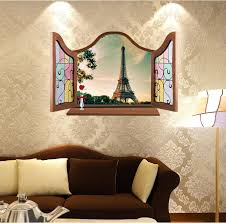 popular paris style wall stickers buy cheap paris style wall