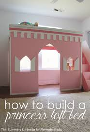 Plans For Making A Bunk Bed by Remodelaholic 15 Amazing Diy Loft Beds For Kids