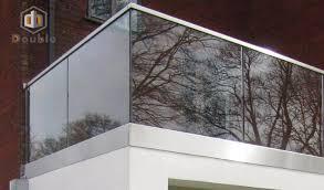 glas balkon balkon u kanal glas geländer aluminium u je kanal geländer für
