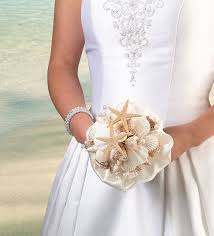 wedding bouquets with seashells wedding bouquet coastal sea shell