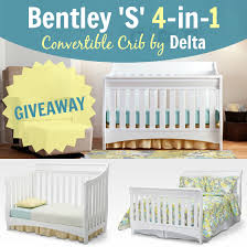 Delta Bentley Convertible Crib Bentley S Series 4 In 1 Crib By Delta Giveaway Daily
