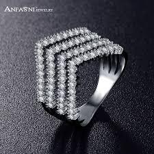 big ladies rings images Anfasni women big jewelry engagement style cz stones paved jpg