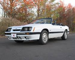white ford mustang convertible white 1985 ford mustang gt convertible for sale mcg marketplace