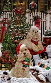 594 best art christmas dogs by margaret sweeney images on
