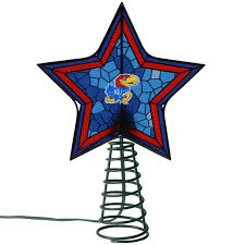 kansas jayhawks mosaic tree topper official kansas jayhawks store
