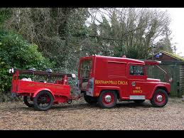 modified gypsy team bhp 1961 austin gipsy fire engine and trailer for sale classic cars