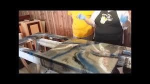 epoxy countertop youtube