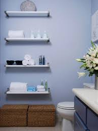 bathroom shelving ideas for towels wall lamps flower pot and