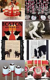 87 best boston terrier themed baby shower images on pinterest
