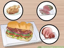 how to lose weight on a subway diet 8 steps with pictures