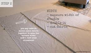 How To Make Curtains Hang Straight How To Make Curtains With Blackout Lining So Much Better With Age
