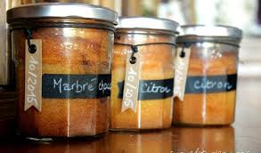 cuisine en bocaux cakes en bocaux au citron et marbré au chocolat chez seve and co