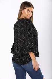 black polka dot blouse your mind polka dot blouse black