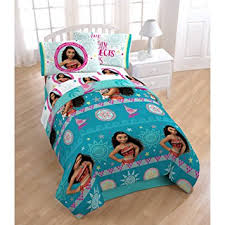 Toddler Bed Sets For Girls Amazon Com Adorable 4 Piece Disney Moana Twin Toddler Bedding