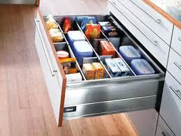 tiroir de cuisine sur mesure rangement interieur meuble cuisine impressionnant rangement