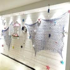 wall ideas fishing wall decor fishing net wall decor fishing