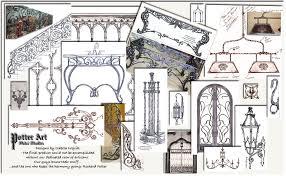potter metal studios custom lighting and ornamental ironwork