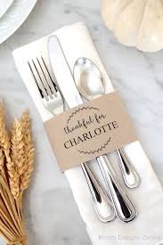 thanksgiving placecard ideas holidays thanksgiving