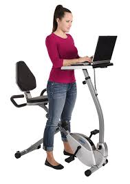 Office Desk Workout by Amazon Com Stamina 2 In 1 Recumbent Exercise Bike Workstation