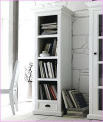 bookcase kensington tall narrow bookcase pearl white stairway