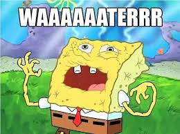 Spongebob Water Meme - scientists are creating beer that can prevent your hangover